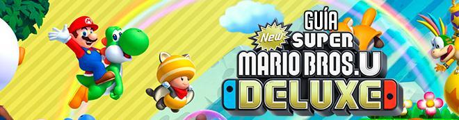 Guía New Super Mario Bros. U Deluxe, trucos y consejos