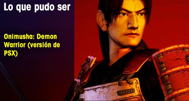 Onimusha: Demon Warrior (versión de PSX)