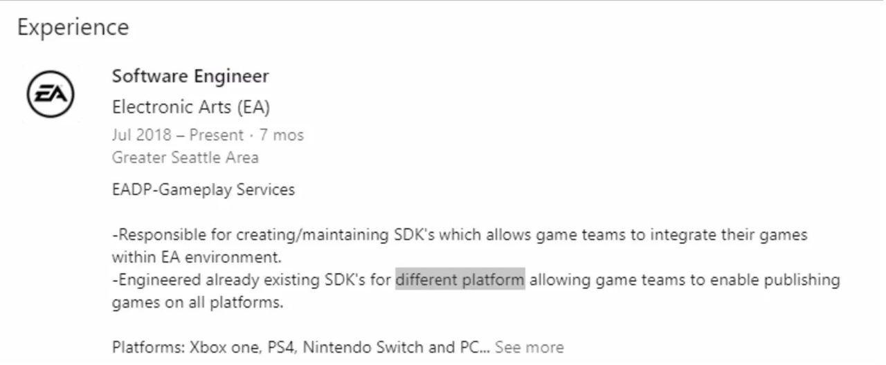 Nuevos rumores sobre la compatibilidad de Frostbite con Nintendo Switch e24bf80c41326