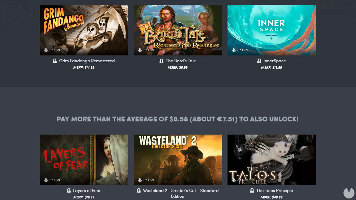The new Humble Bundle is dedicated to indie games for PS4