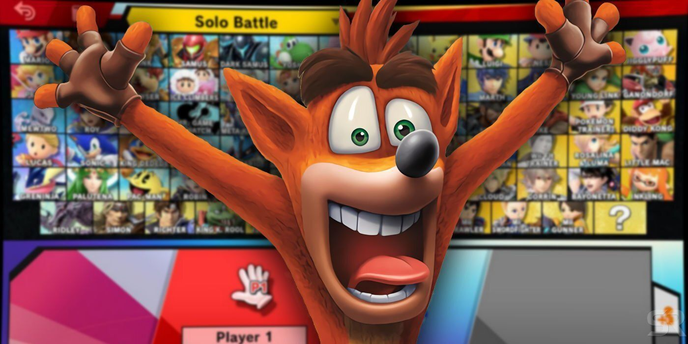 Rumor: Crash Bandicoot will be the first fighter in the Fighter Pass 2 of Smash Bros Ultimate