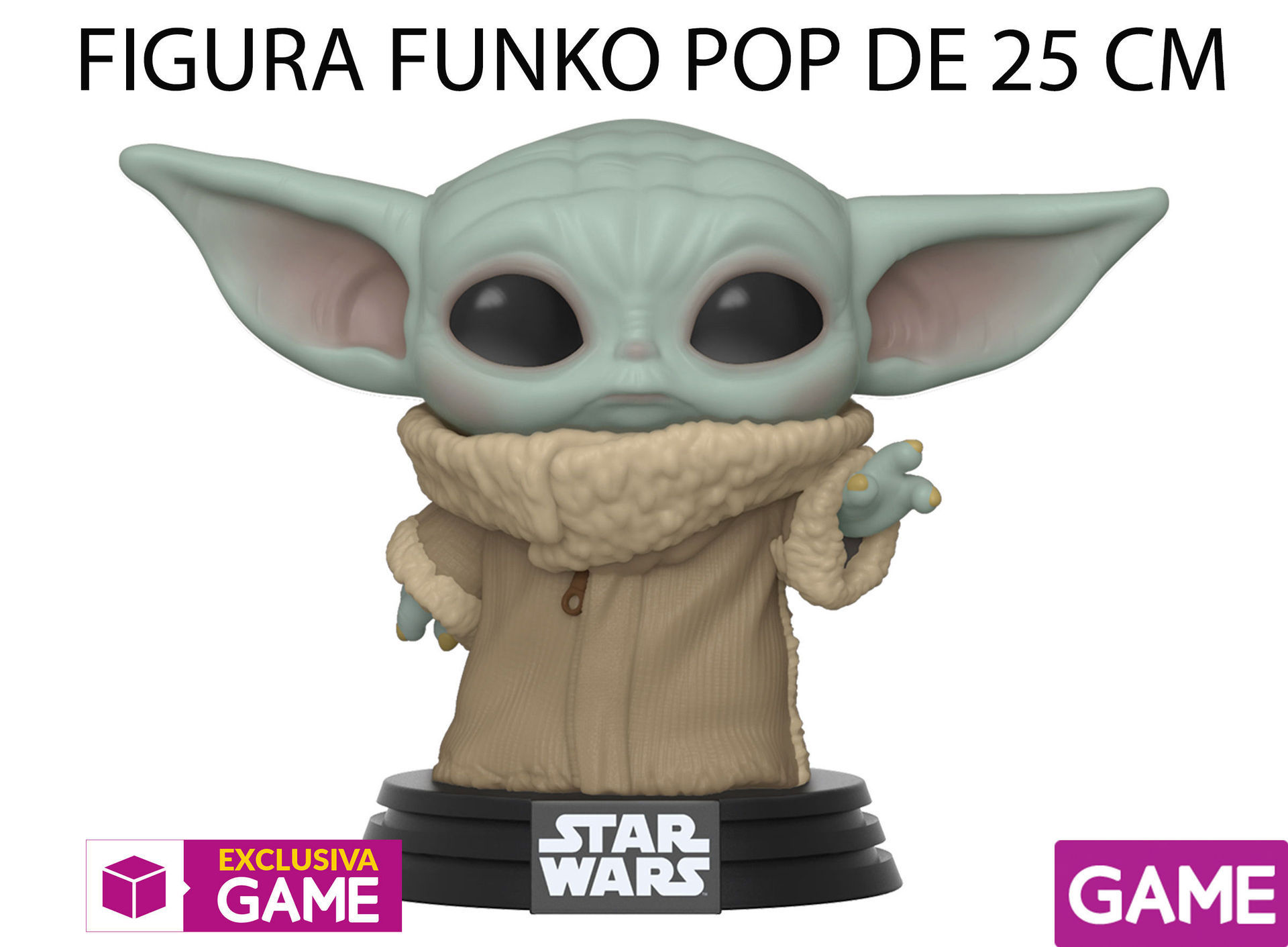 GAME presents its exclusive merchandising of Baby Yoda, The Mandalorian