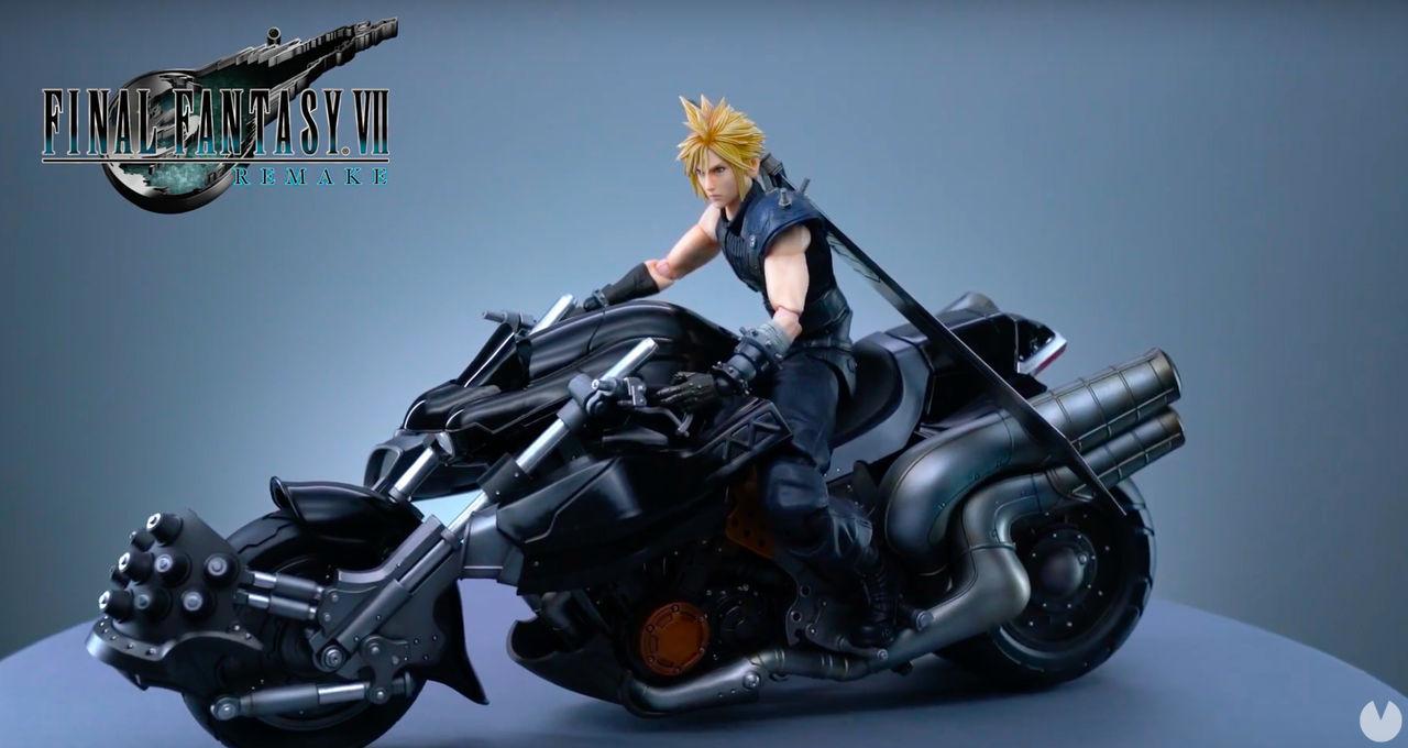 Final Fantasy VII Remake: La figura de Cloud en su mítica Hardy Daytona estrena tráiler