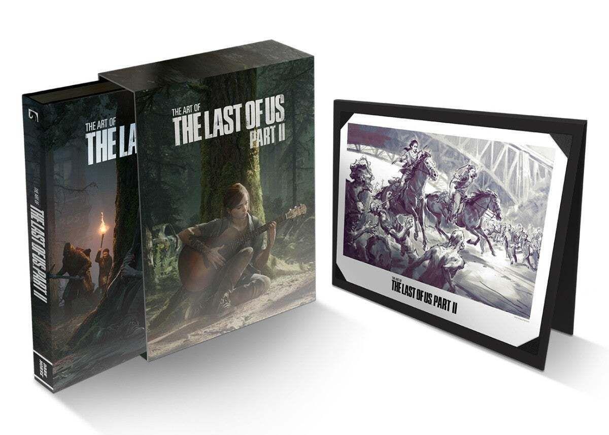 The Last of Us 2: Dark Horse anuncia la edición deluxe del libro de arte
