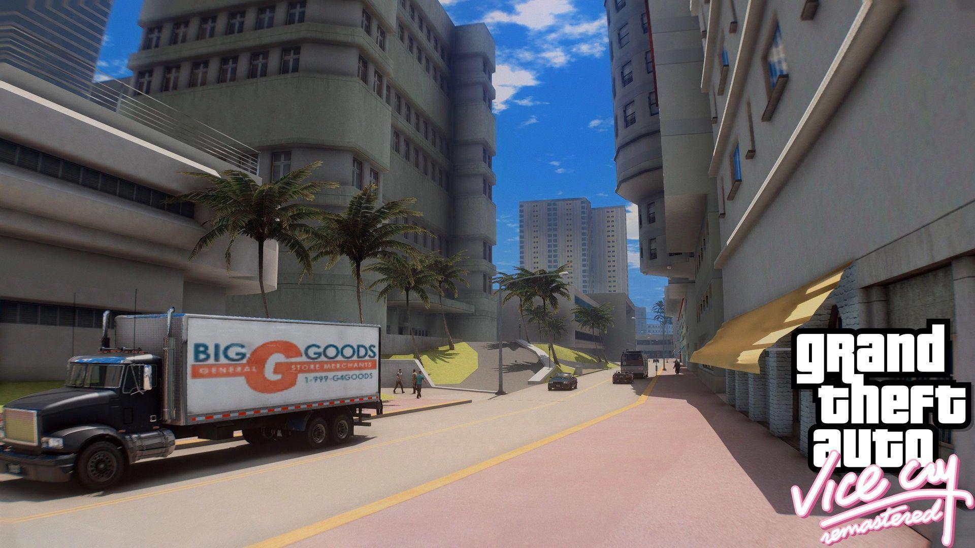 A mod takes city GTA Vice City GTA 5 for PC