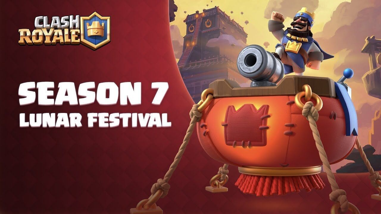 "Clash Royale starts its 7th season ""Lunar Festival"" with the new letter Lanzafuegos"