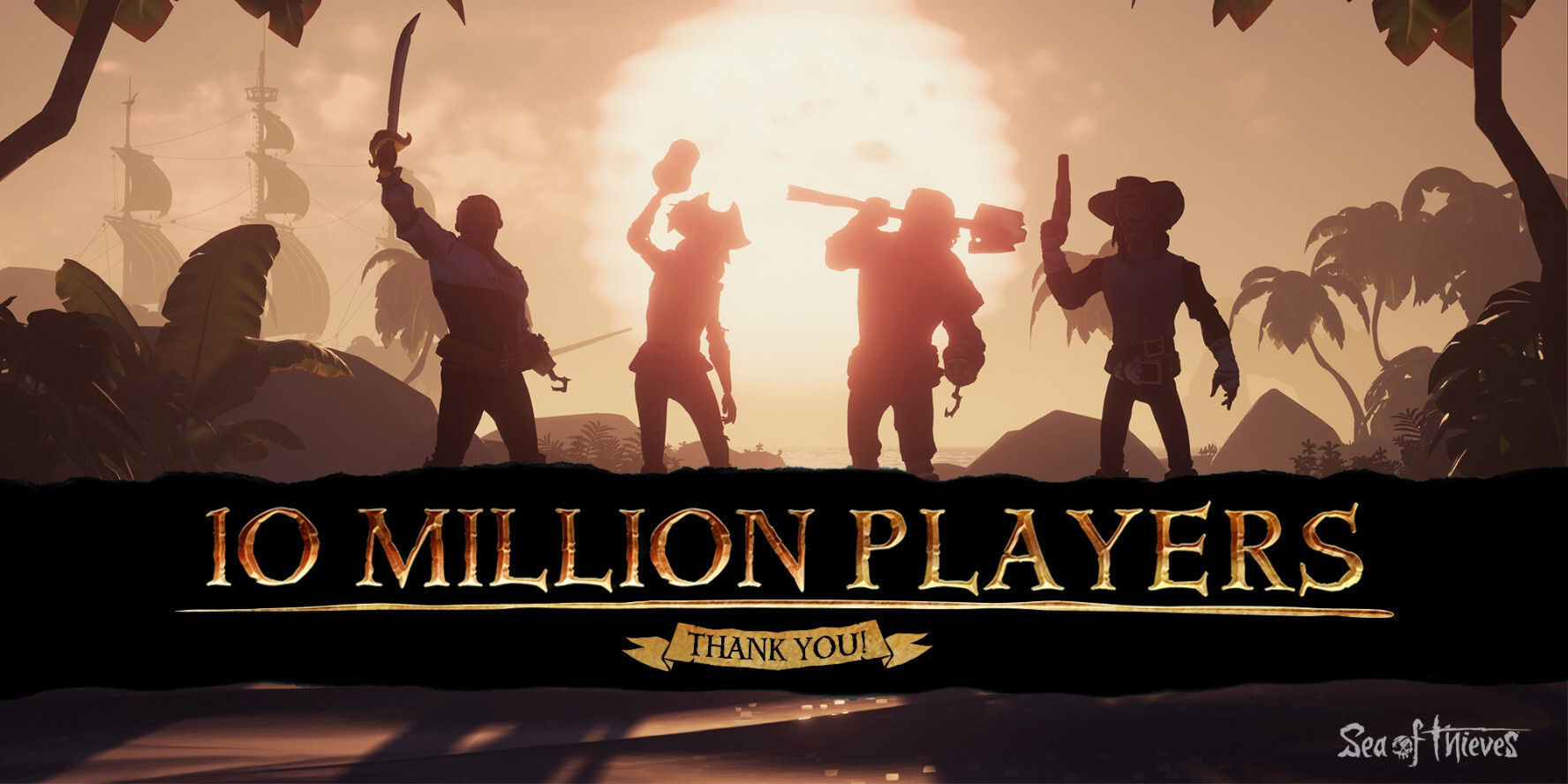 Sea of Thieves more than 10 million players since its launch