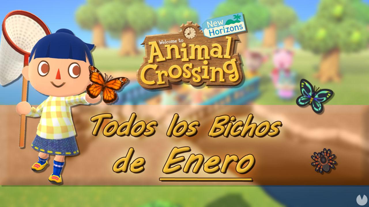Bichos disponibles en Enero 2021 en Animal Crossing: New ...