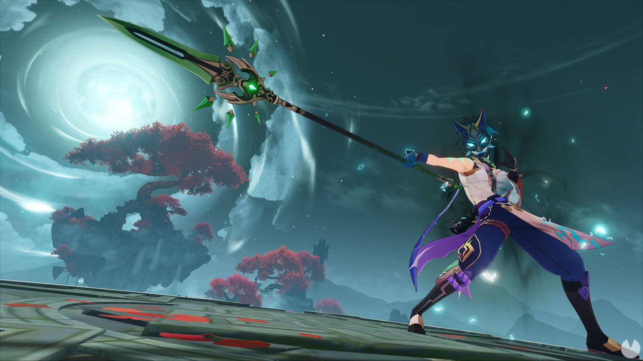 Nuevo personaje de la actualización 1.3 de Genshin Impact.