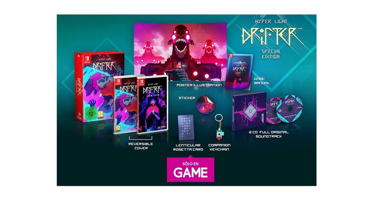 GAME España presenta la edición Hyper Light Drifter: Special Edition para Switch