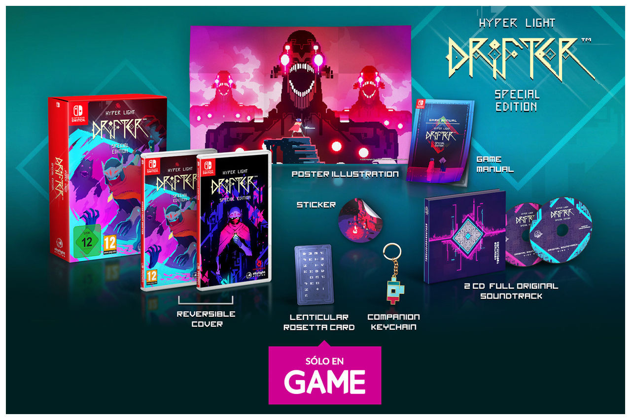 Hyper Light Drifter: Special Edition y sus reservas en GAME