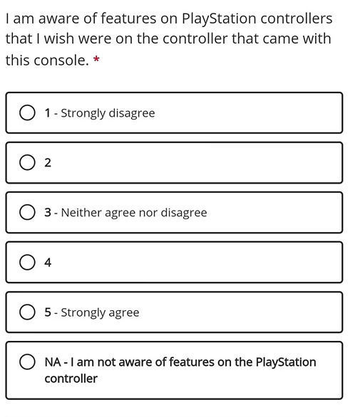 La pregunta de Microsoft sobre el mando Dualsense