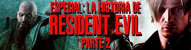 La historia de Resident Evil (parte 2)