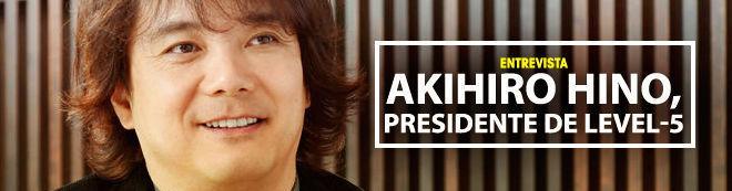 Akihiro Hino, presidente de Level-5