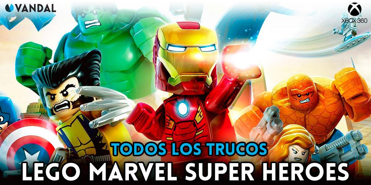 Trucos Lego Marvel Super Heroes Xbox 360 Claves Guias