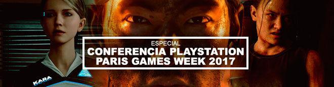 Conferencia Sony Paris Games Week