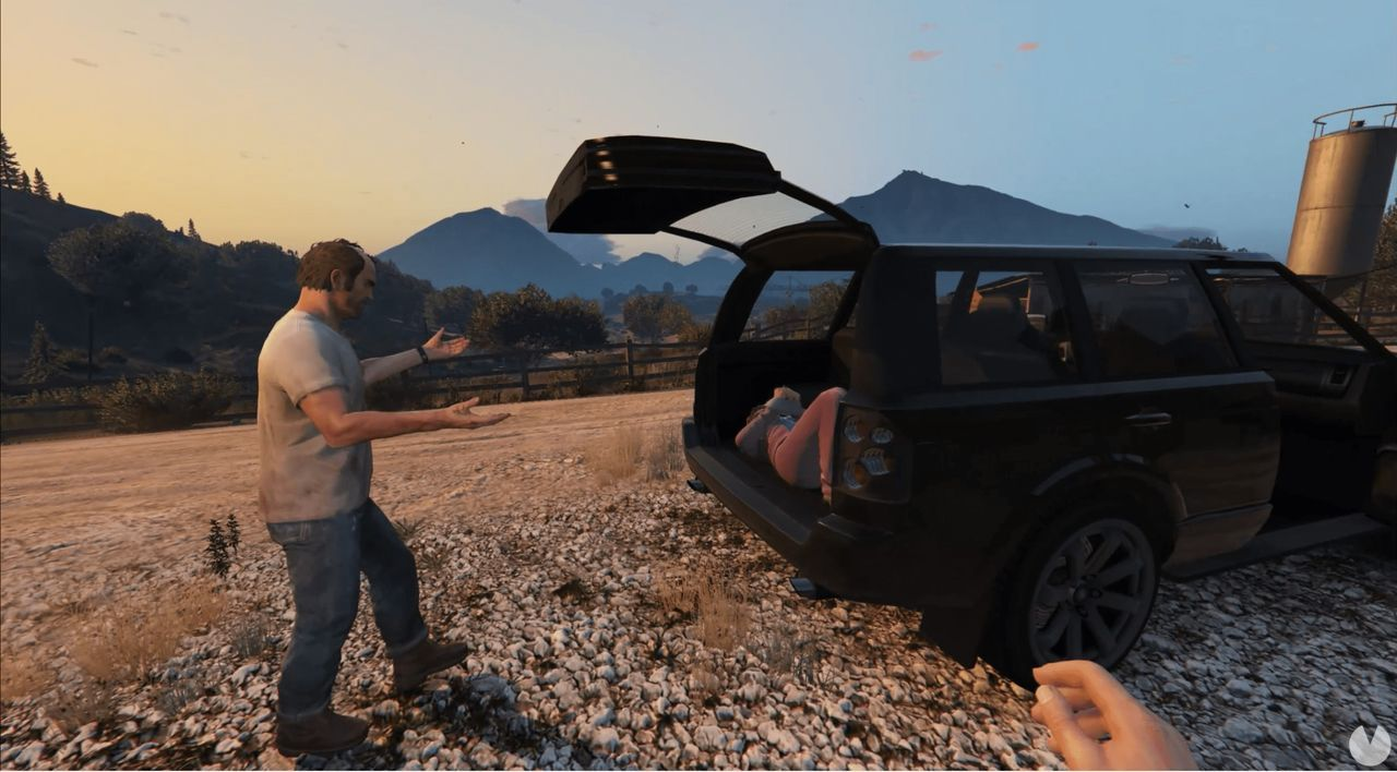 Released a mod to see the footage of GTA V in first person