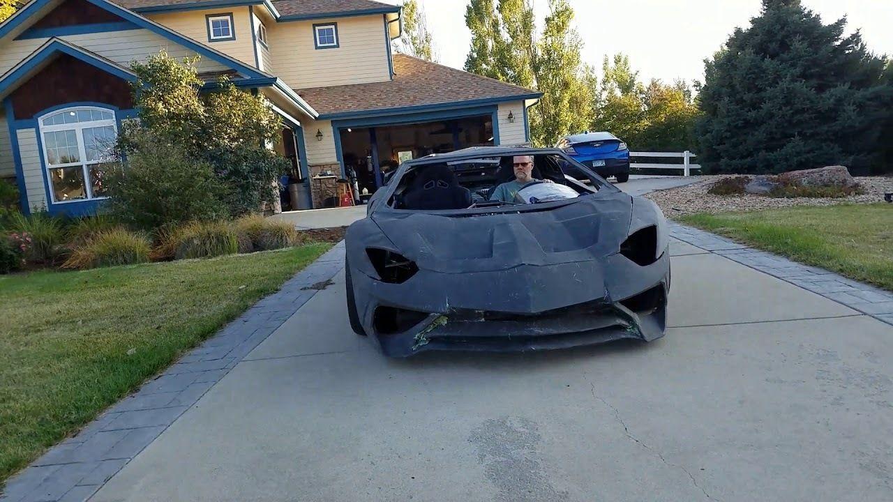 Padre e hijo crean Lamborghini con impresora 3D