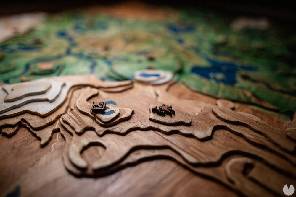A fan creates a tribute topographic Zelda with a map of Hyrule in wood