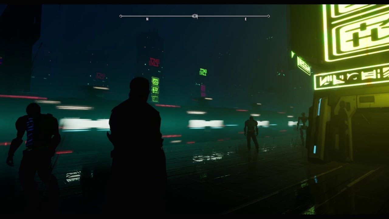 my Vigilance, a title, a cyberpunk to the more pure style of Blade Runner, presented his prototype