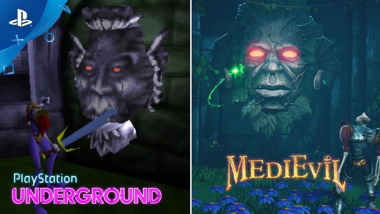 Medievil Remake in PS4: So have evolved the graphics over the original PSX