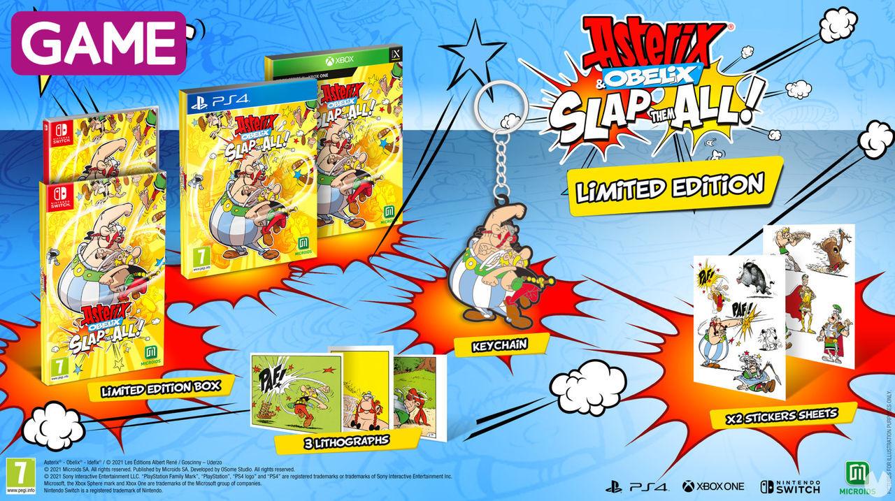 Edición limitada de Asterix & Obelix: Slap Them All en GAME.