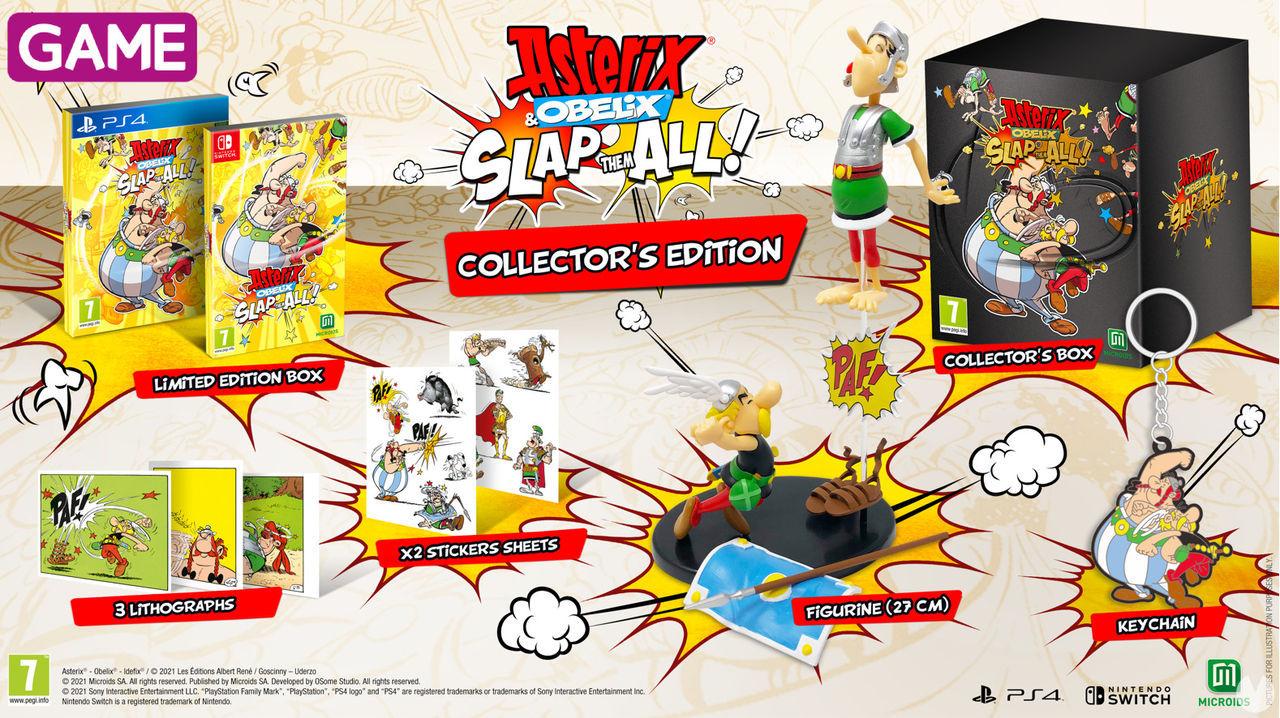 Edición coleccionista de Asterix & Obelix: Slap Them All en GAME.