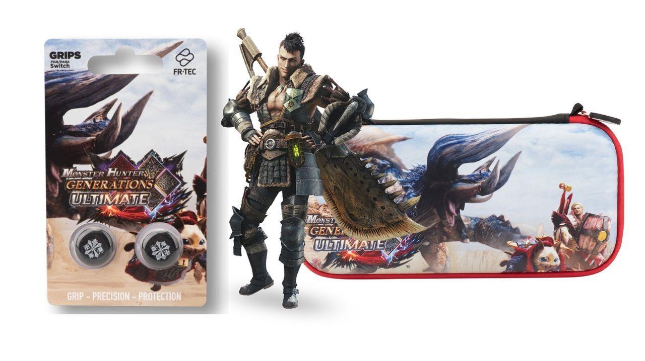 Monster Hunter recibe nuevos accesorios para Switch gracias a FR-TEC
