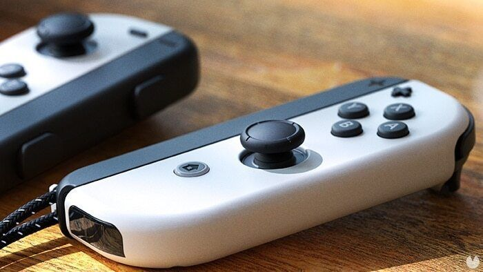 Joy-Con de Nintendo Switch OLED.