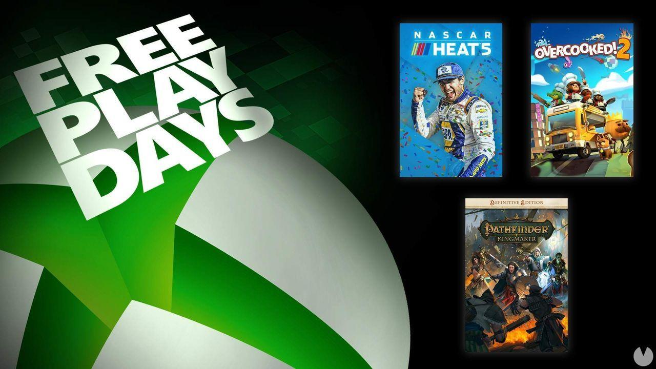Free Play Days del 1 al 3 de octubre en Xbox.