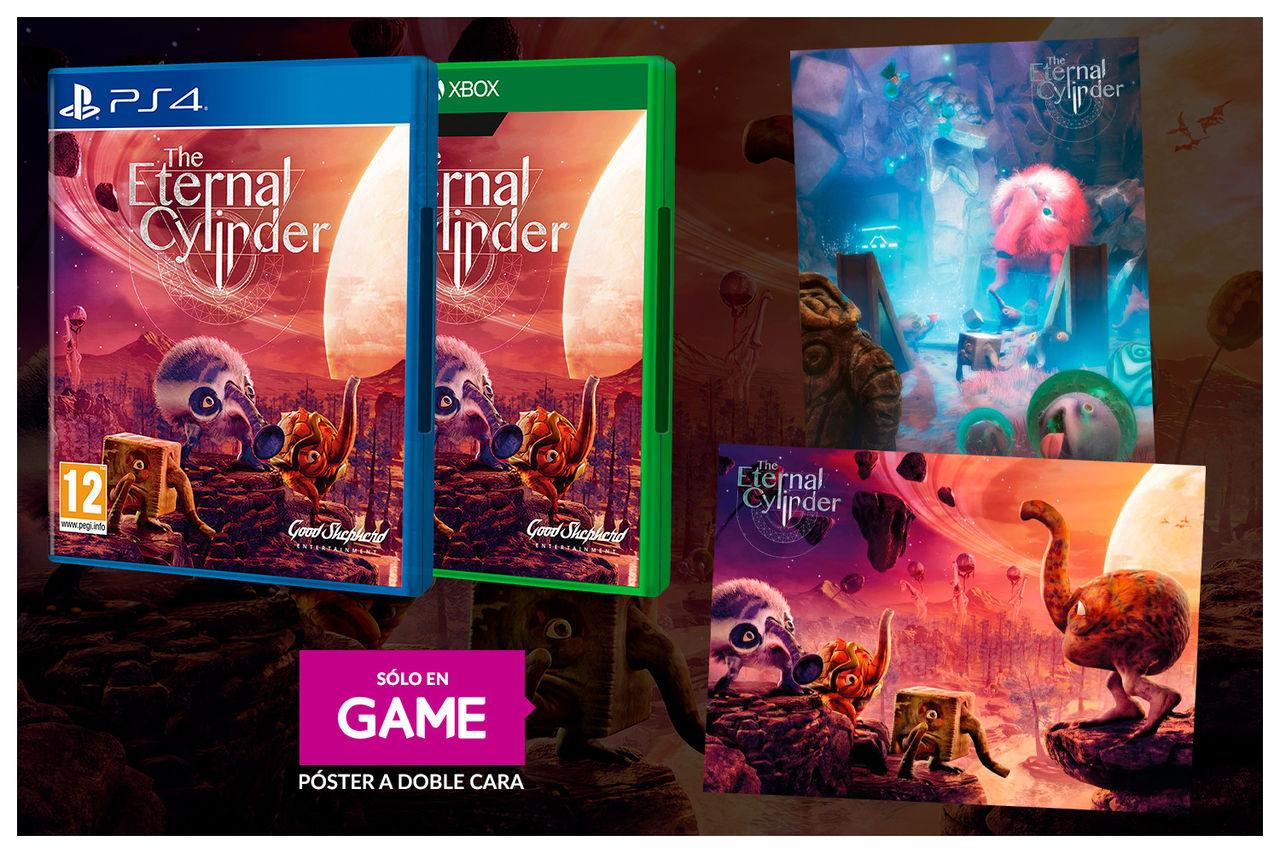 Si reservas The Eternal Cylinder en GAME recibirás un póster a doble cara y un manual