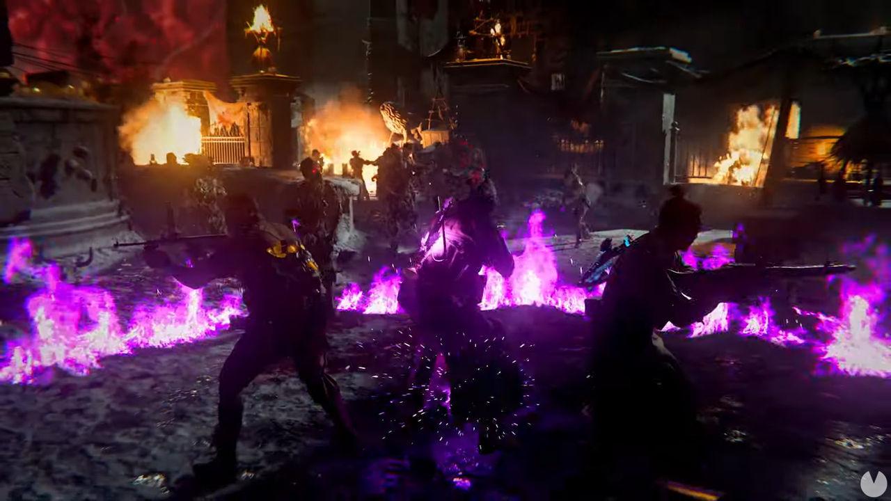 Modo zombis de Call of Duty: Vanguard.