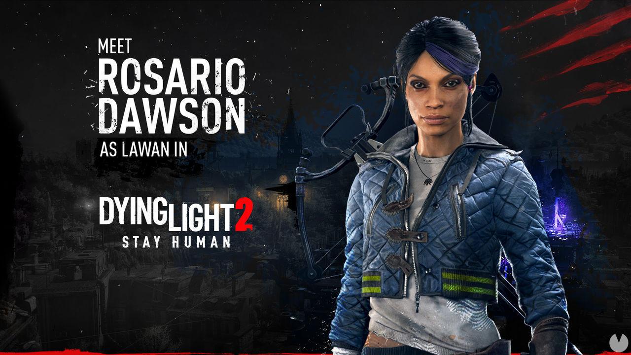 Dying Light 2 presenta un nuevo personaje interpretado por la actriz Rosario Dawson