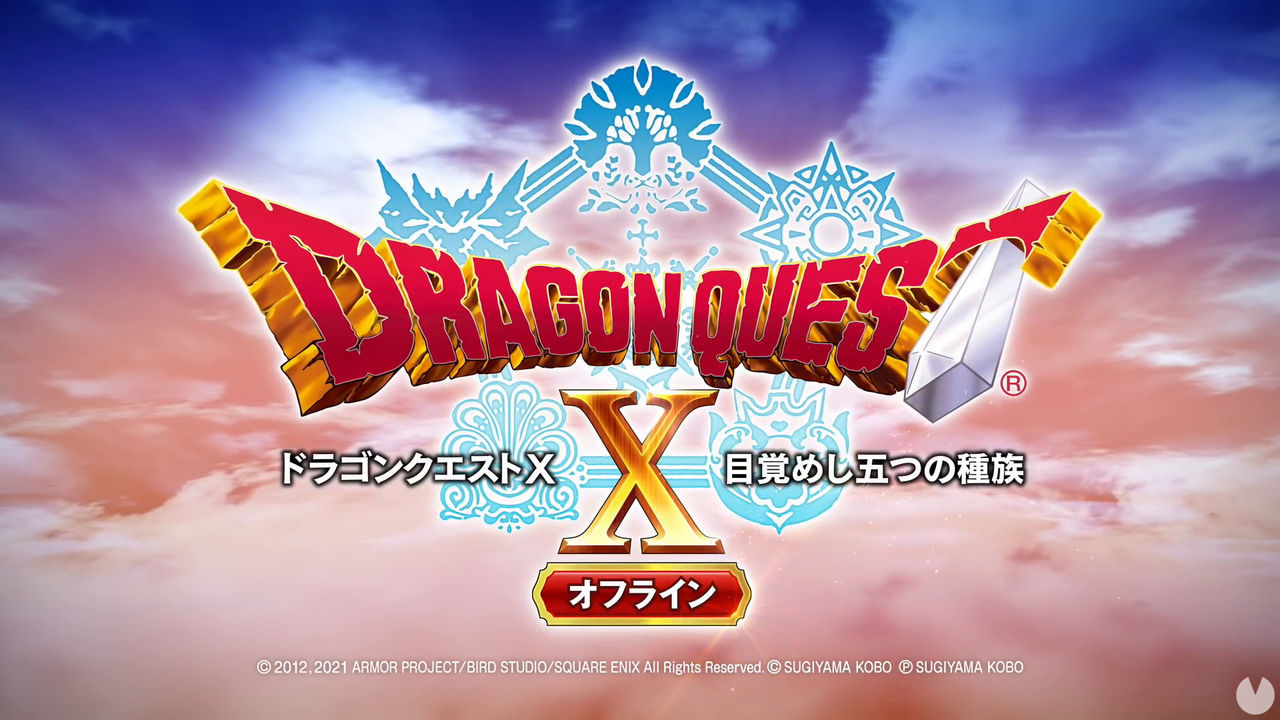 Dragon Quest X: Rise of the Five Tribes Offline debuta el 26 de febrero, al menos en Japón