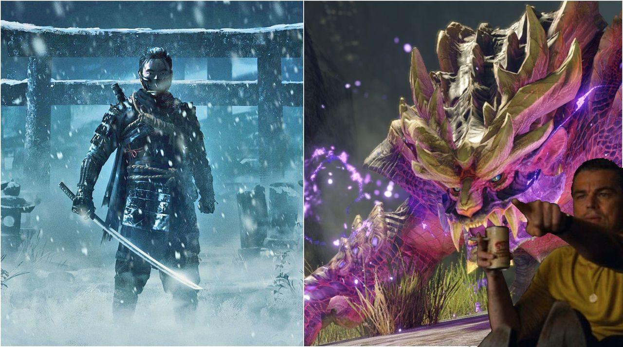 Ghost of Tsushima y Monster Hunter Rise comparten premio a Juego del Año en Japón