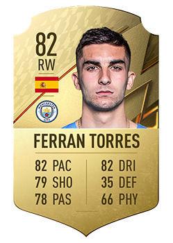 FIFA 22: I giocatori con il maggior potenziale, Ferran Torres