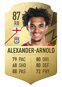 FIFA 22: Giocatori con il maggior potenziale Trent Alexander-Arnold