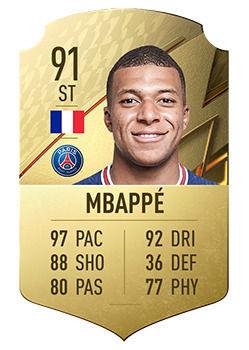 FIFA 22: Giocatori dal grande potenziale Kylian Mbappe