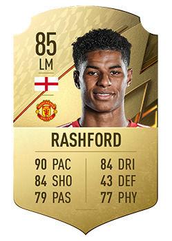 FIFA 22: Giocatori con il miglior potenziale Marcus Rashford