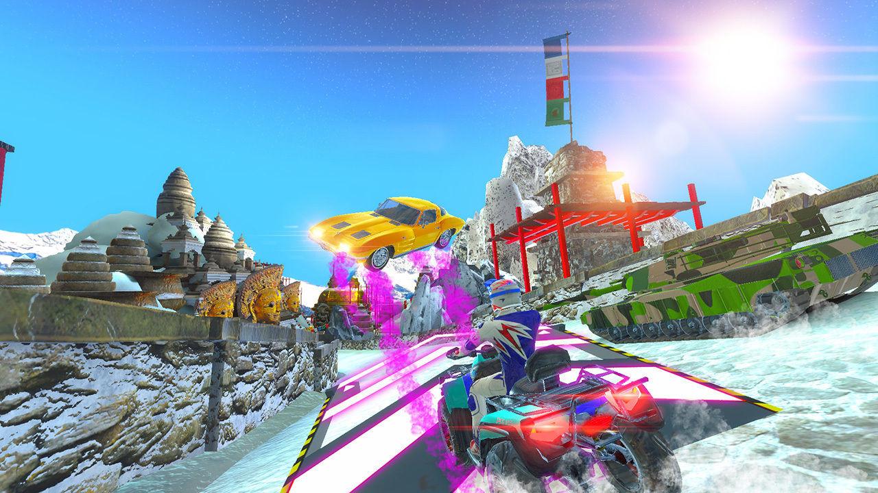 Cruis'n Blast debuta en Switch en septiembre