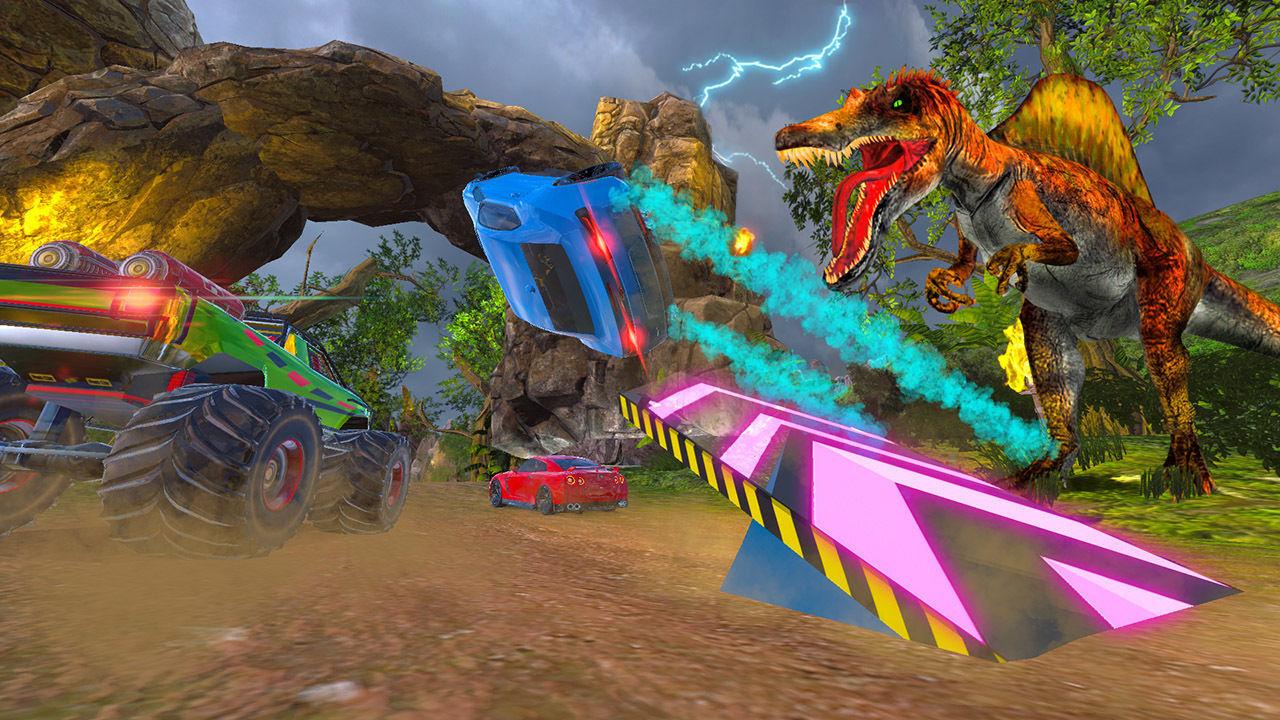 Cruis'n Blast, un colorido arcade de carreras, debuta en Switch el 14 de septiembre