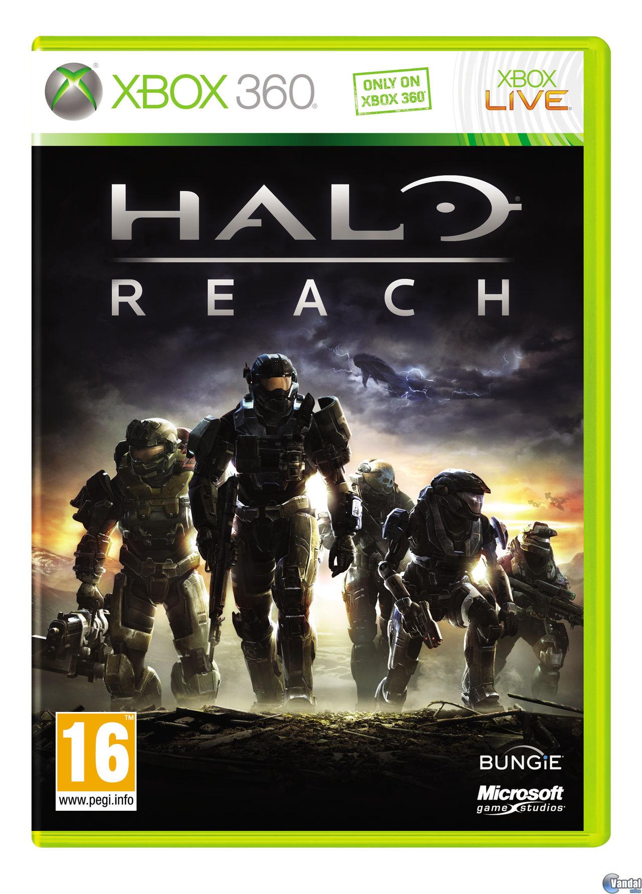 Halo Reach Toda La Informacion Xbox 360 Vandal