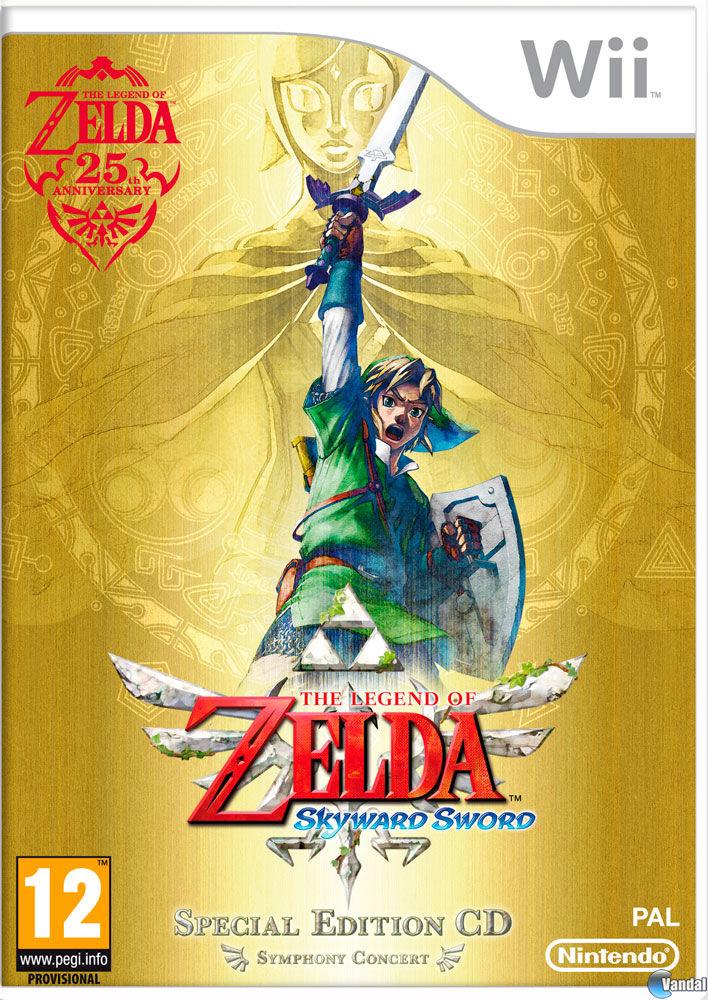 The Legend Of Zelda Skyward Sword Toda La Informacion Wii Vandal
