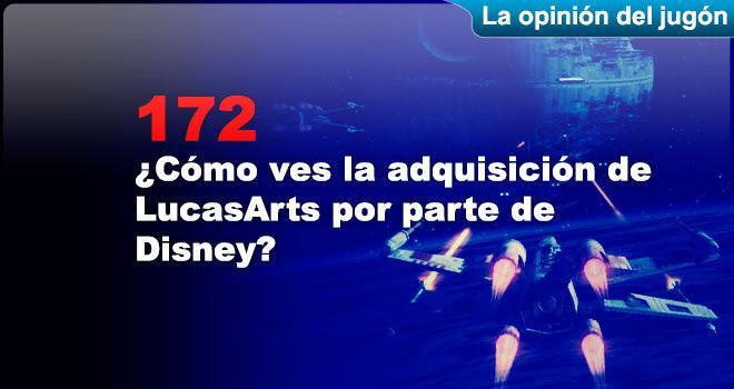 ¿Cómo ves la adquisición de LucasArts por parte de Disney?
