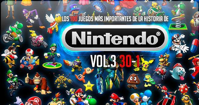 Los 100 Juegos Mas Importantes De La Historia De Nintendo Vol 3 30 1