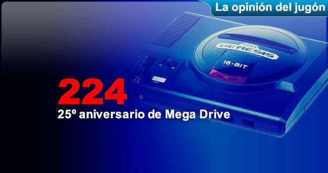 25º aniversario de Mega Drive