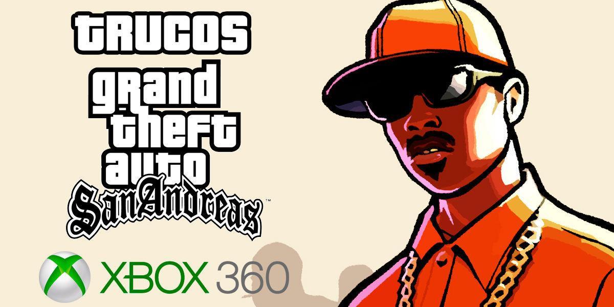 Trucos de Grand Theft Auto: San Andreas XBLA para Xbox 360