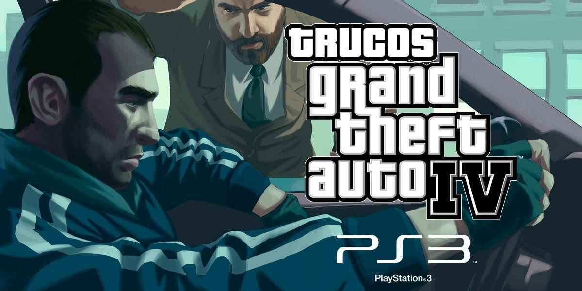 Trucos de Grand Theft Auto IV para PS3