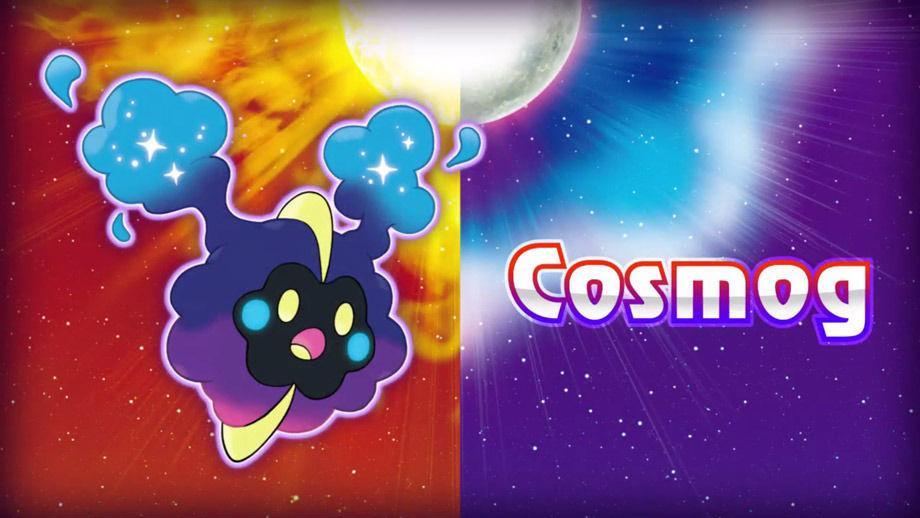 Cosmog en Pokémon Sol y Luna
