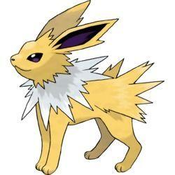 Jolteon Pokémon Sol y Luna